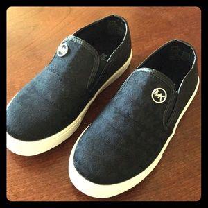 Michael Kors girl's glitter shoes